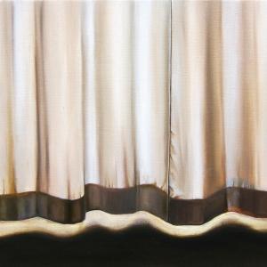Intérieur, 2017, peinture à l'huile sur toile, 55 x 33 cm