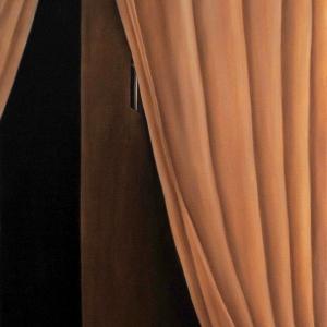 Sans titre, 2017, Peinture à l'huile sur toile, 45.5 x 53cm