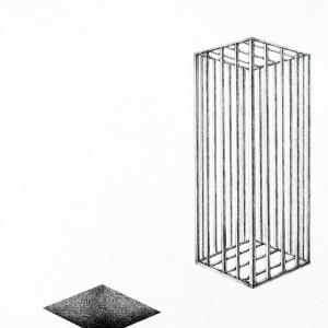 La réalité, 2018, graphite sur papier, 21.0 x 29.7 cm