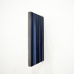 Vérité, 2017, Peinture à l'huile sur bois, 30.3 x 58 x 3.3 cm-1