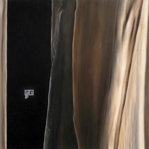 Mon espace, 2017, Peinture à l'huile sur toile, 130 x 97 cm